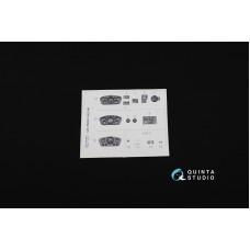 QD35002 1/35 3D Декаль интерьера кабины для семейства ГAЗ-66 (для любых моделей)