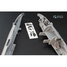 QD72001 1/72 3D Декаль интерьера кабины Пе-2 (для модели Звезда 7283)
