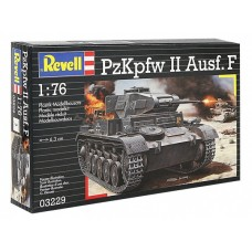 REVELL НЕМЕЦКИЙ ЛЕГКИЙ ТАНК PZKPFW II AUSF. F