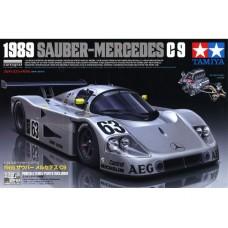 24359 Tamiya сборная модель Спортивный автомобиль Sauber-Mercedes C9 1989 масштаб 1/24