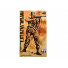 """36303 Фигура Немекий пехотинец """"WWII German Elite Infantry Man"""""""