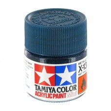 X-13 METALLIC BLUE, ACRYLIC PAINT MINI 10 ML. (СИНИЙ МЕТАЛЛИК) TAMIYA