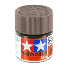 X-33 BRONZE METALLIC, ACRYLIC PAINT MINI 10 ML. (БРОНЗА МЕТАЛЛИК) TAMIYA