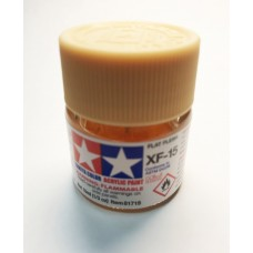 XF-15 FLAT FLESH, ACRYLIC PAINT MINI 10 ML. (ТЕЛЕСНЫЙ МАТОВЫЙ) TAMIYA