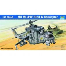 05103 Модель TRUMPETER Вертолёт  M-24V Hind-E (1:35)