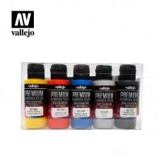 62103 Набор красок металлик  Vallejo Premium /5х60мл.