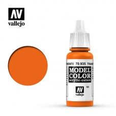 70935 Vallejo Краска акриловая серия Model Color Прозрачный оранжевый/Transparent Orange