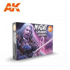 AK11602 AK Interactive Набор акриловых красок Night Creatures Flesh Tone
