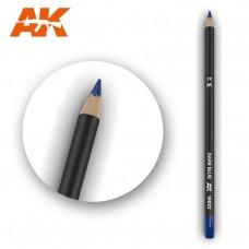 "Акварельный карандаш ""Темно-синий"" / Watercolor Pencil Dark Blue"