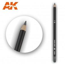 """Акварельный карандаш """"Темно-серый"""" / Watercolor Pencil Dark Grey"""