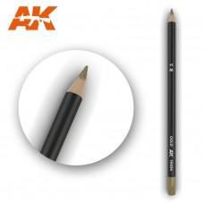 """Акварельный карандаш """"Золото"""" / Watercolor Pencil Gold"""
