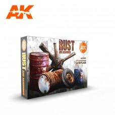 AK11605 Набор акриловых красок Rust Set