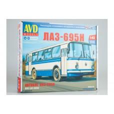 4029AVD AVDMODELS Сборная модель автобуса ЛАЗ-695Н масштаб 1/43