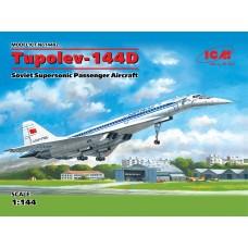 14402 ICM Советский сверхзвуковой пассажирский самолет масштаб 1/144