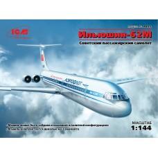 14405 ICM Советский пассажирский самолет ИЛ-62 масштаб 1/144