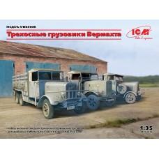 DS3508 3-осные грузовые автомобили (Henschel 33D1, Krupp L3H163, LG3000)