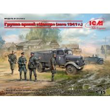 DS3502 ICM Группа армий «Центр» (лето 1941 г.) масштаб 1/35