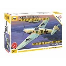 Немецкий истребитель Мессершмитт Bf 109 F-2