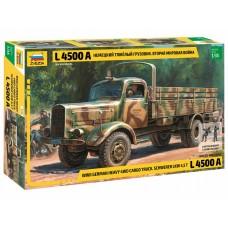 Немецкий тяжелый грузовик L 4500A времен Второй Мировой Войны
