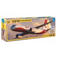 Пассажирский авиалайнер Ту-204-100