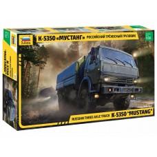 3697 Звезда Российский трехосный грузовик К-5350 «Мустанг» масштаб 1/35