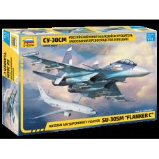 7314 Звезда Российский многоцелевой истребитель завоевания превосходства в воздухе Су-30СМ масштаб 1/72