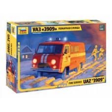 УАЗ «3909» Пожарная служба