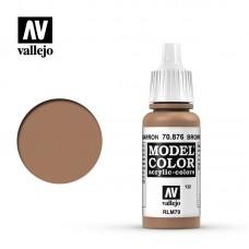 70876 Vallejo Краска акриловая серия Model Color Коричневый песок/Brown sand
