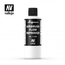 71562 Vallejo Airbrush Flow Improver Жидкость для улучшения текучести краски, 200 мл