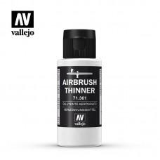 71361 Vallejo Разбавитель для акриловых красок. Новая формула. AIRBRUSH THINNER 60 мл.