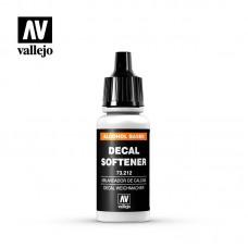73212 Vallejo Decal Softener Жидкость для размягчения декалей 17 мл.